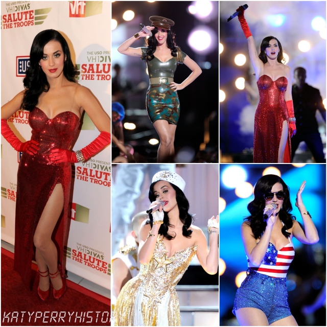 On This Day in #KatyPerryHistory… 3rd December 2010, Katy Perry performed VH1 Divas Salute the Troops